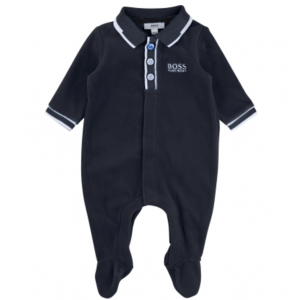 Boss Kids Night Gown Pyjamas in Navy