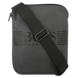 Boss Kids Man Bag in Dark Grey