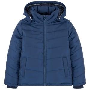 Boss Kids Big Kids Puffer Coat in Dark Blue