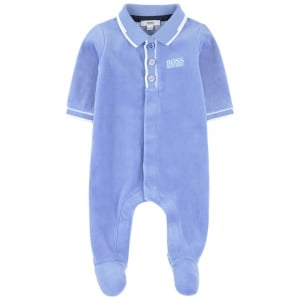 Boss Kids Night Gown Pyjamas in Blue