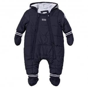 Boss Kids Snowsuit in Navy