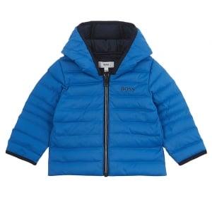 Body Warmer Coat in Blue