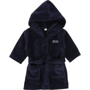 Bathrobe in Navy