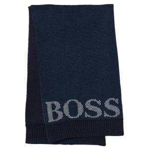 Boss Kids Boss Scarf in Navy