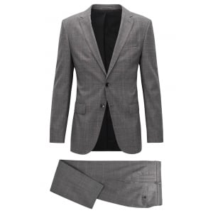 Boss Black Novan5/Ben Suit in Black