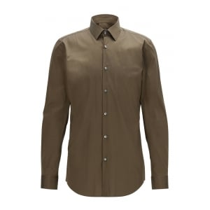 Isko Formal Shirt in Open Green