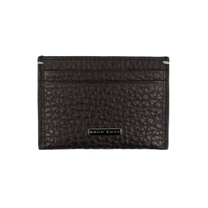 Boss Black Varennes Cardholder Wallet in Dark Brown