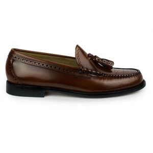 Weejuns Larkin Brogue Shoes in Dark Brown