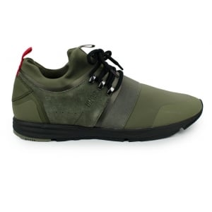 Hugo Hybrid Runn Trainers in Green