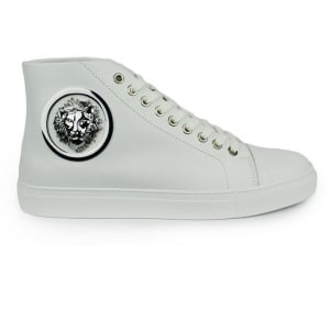Versus Versace Lion Side Logo Trainers in White