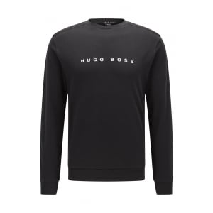 Boss Black Loungewear Sweatshirt RN in Black