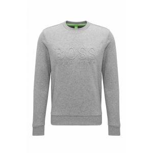 Boss Green Salbo Sweatshirt in Grey