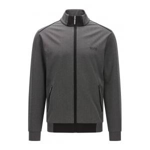 Boss Black Loungewear Jacket Zip in Black