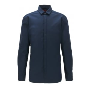 Ebros Formal Shirt in Navy