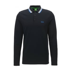 Plisy Polo Shirt in Black