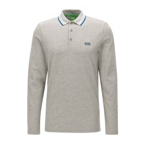 Plisy Polo Shirt in Grey
