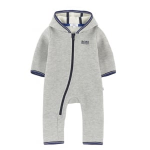 Boss Kids All in One Pyjamas in Grey