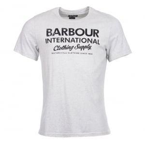 Barbour International Supply T-Shirt in Grey