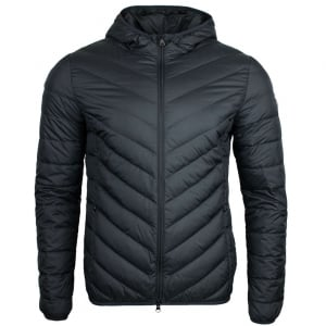 Ea7 Puffer Jacket in Black