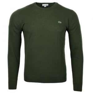 Lacoste Logo Knitwear in Green