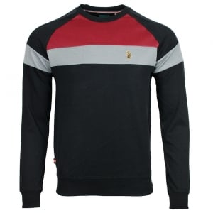 Adam Sport Sweatshirt in Black