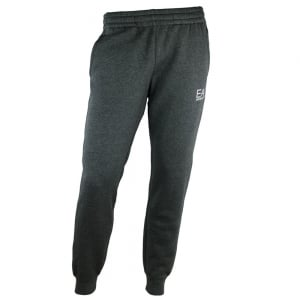 Ea7 Jersey Jogging Bottoms in Dark Grey