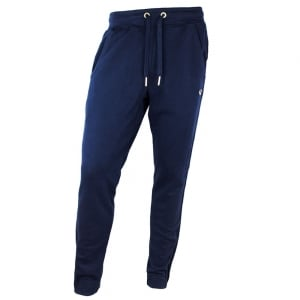 True Religion Metal Logo Jogging Bottoms in Navy