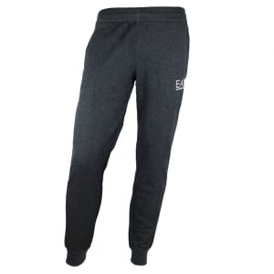 Ea7 Logo Jogging Bottoms in Dark Grey