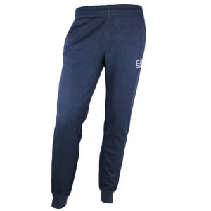 Ea7 Logo Jogging Bottoms in Navy