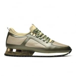 Mallet Diver Trainers in Green