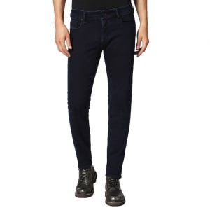 "Diesel Sleenker 30"" Short Leg Jeans in Navy"