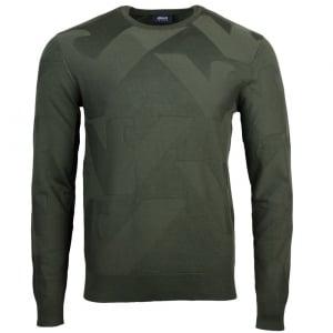 Armani Jeans Pullover Knitwear in Green