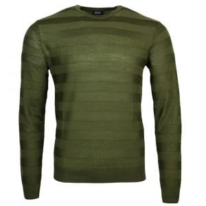 Armani Jeans Lined Knitwear in Green