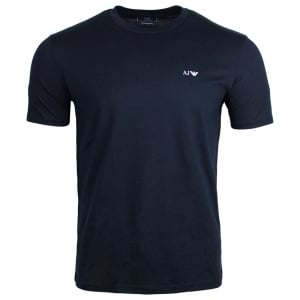 Armani Jeans Single Set T-Shirt in Navy