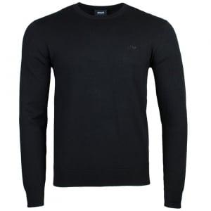 Armani Jeans Logo Knitwear in Black