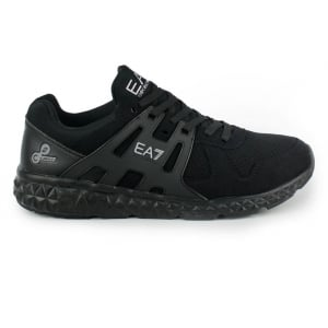 Ea7 Runner Trainers in Black