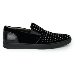 Hugo Post_Slon Trainers in Black
