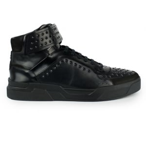 Hugo Symmetric Trainers in Black