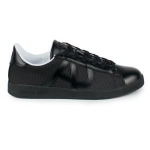 Armani Jeans AJ Sole Trainers in Black