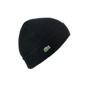 Lacoste Bonnet Hat in Black