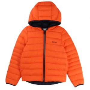 Newborn Body Warmer Coat in Orange