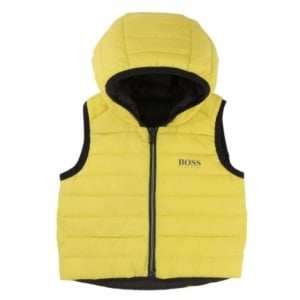 Body Warmer Newborn Gilet in Yellow