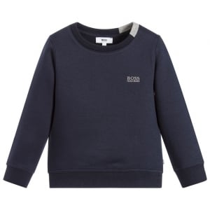 Logo Sweatshirt in Navy