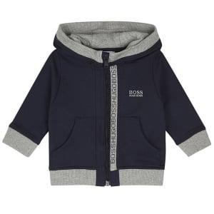 Newborn Sweatshirt in Navy