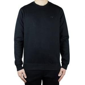 Armani Jeans Logo Sweatshirt in Black