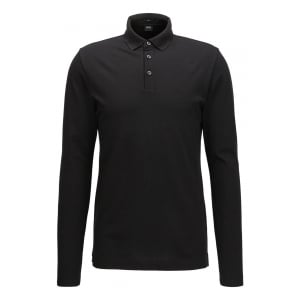 Pleins 03 Polo Shirt in Black