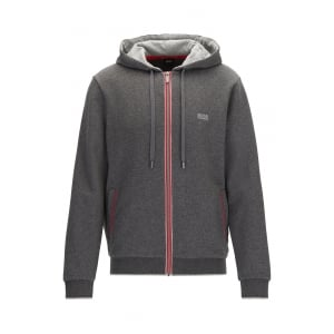 Loungewear Authentic Jacket in Mid Grey