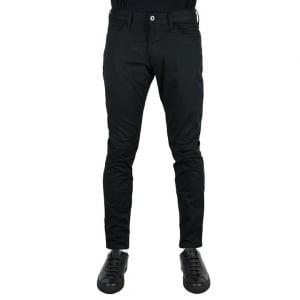"""Armani Jeans Slim J06 30"""" Short Leg Jeans in Black"""