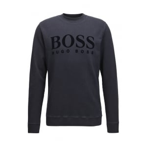 WLan Sweatshirt in Dark Blue