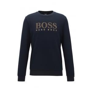 Loungewear Tracksuit Sweatshirt in Dark Blue